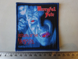 MERCYFUL FATE - RETURN OF THE VAMPIRE ( WOVEN )