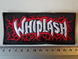 WHIPLASH - NAME WHITE/RED