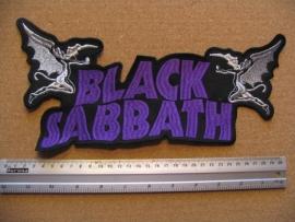 BLACK SABBATH - PURPLE LOGO + DEVIL