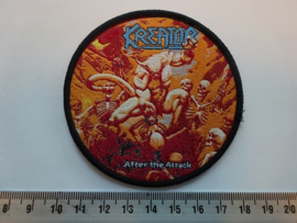 KREATOR - AFTER THE ATTACK ( BLACK BORDER ) WOVEN