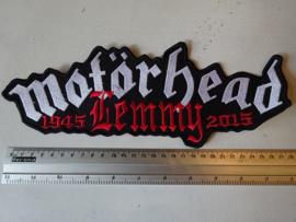 MOTORHEAD - LEMMY 1945-2015