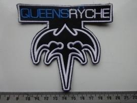 QUEENSRYCHE - BLUE/WHITE EMPIRE LOGO