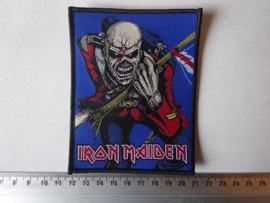 IRON MAIDEN - THE TROOPER BLACK BORDER