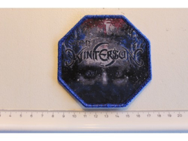 WINTERSUN - TIME I ( BLUE GLITTER  BORDER ) WOVEN