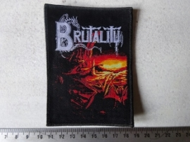 BRUTALITY - WHEN THE SKY TURNS ( WOVEN )