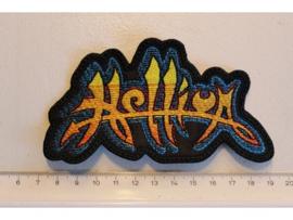 HELLION - YELLOW/BLUE NAME LOGO