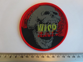 W.A.S.P. - THE HEADLESS CHILDREN ( RED BORDER ) WOVEN