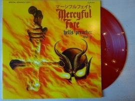 MERCYFUL FATE - HELLS PREACHER VOL II ( RED VINYL )