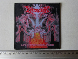 DISMEMBER - LIKE AN EVERFLOWING STREAM (WOVEN ) HANDNUMBERED