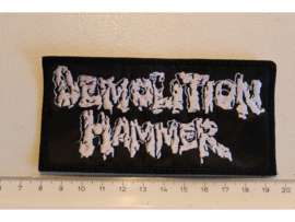 DEMOLITION HAMMER - WHITE NAME LOGO