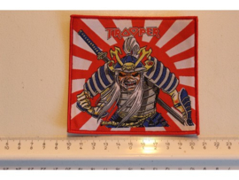 IRON MAIDEN - JAPANESE TROOPER ( RED BORDER ) WOVEN