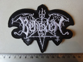 BEHEXEN - WHITE NAME LOGO ( SHAPED )