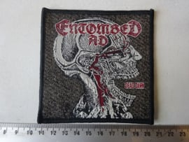 ENTOMBED - DEAD DOWN ( WOVEN )