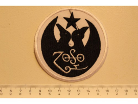 LED ZEPPELIN - ZOSO ( BLACK/WHITE )