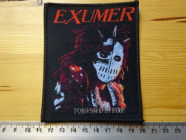 EXUMER - POSSESSED BY FIRE ( WOVEN )