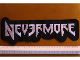 NEVERMORE - GREY/WHITE NAME LOGO