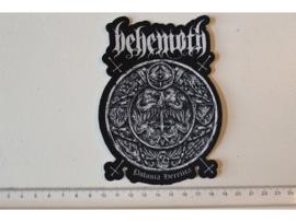 BEHEMOTH - POLONIA HERETICA ( LASERCUT ) PRINT