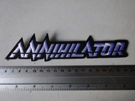 ANNIHILATOR - WHITE NAME LOGO ( BIG )