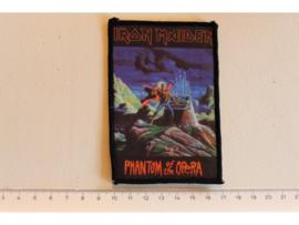 IRON MAIDEN - PHANTOM OF THE OPERA ( ORIGINAL 80'S  ) PRINT, DIFFERENT