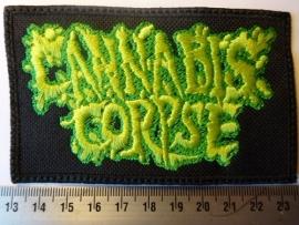 CANNABIS CORPSE - GREEN LOGO