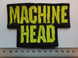 MACHINE HEAD - YELLOW NAME LOGO