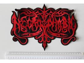 NECROPHOBIC - RED NAME LOGO