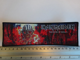 IRON MAIDEN - THE BOOK OF SOULS ( BLACK BORDER ) WOVEN STRIPE
