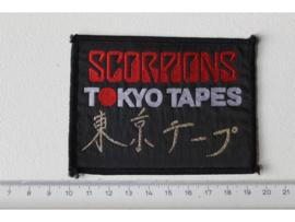 SCORPIONS - TOKYO TAPES ( ORIGINAL 1978 ) WOVEN