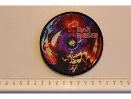 IRON MAIDEN - THE CALL OF THE PROPHECY ( BLACK BORDER ) WOVEN
