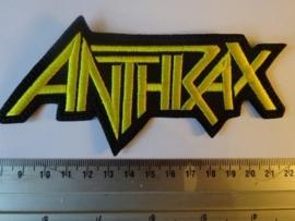 ANTHRAX - YELLOW LOGO