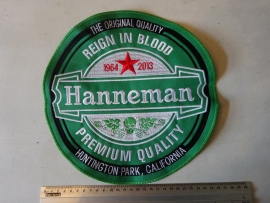 SLAYER - HANNEMAN GREEN LOGO