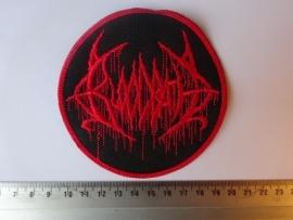 BLOODBATH - CIRCLED RED LOGO