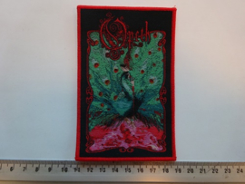 OPETH - SORCERESS ( RED BORDER ) WOVEN