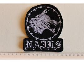 NAILS - WOLF LOGO