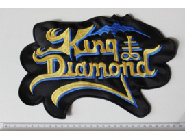 KING DIAMOND - YELLOW/BLUE NAME LOGO