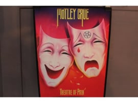 MOTLEY CRUE - THEATRE OF PAIN ( PRINT )