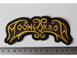 MOONSORROW - GOLD NAME LOGO  ( DIFFERENT )