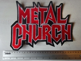 METAL CHURCH - RED/WHITE LOGO