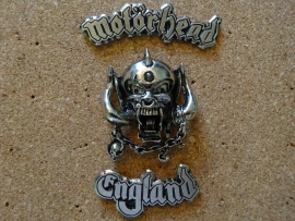 MOTORHEAD ENGLAND  (3 PIECES)