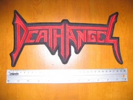 DEATH ANGEL - RED LOGO