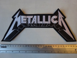 METALLICA - MASTER OF PUPPETS ( WHITE LOGO )