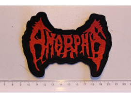 AMORPHIS - RED NAME LOGO
