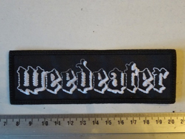 WEEDEATER - BLACK/WHITE NAME