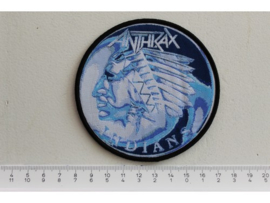 ANTHRAX - INDIANS ( BLACK BORDER ) WOVEN