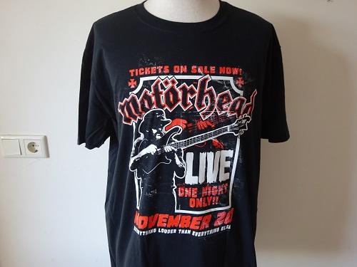 MOTORHEAD - LIVE | Shirts Unisex | Riffs Merchandise