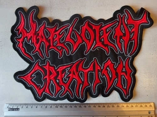 MALEVOLENT CREATION - RED LOGO