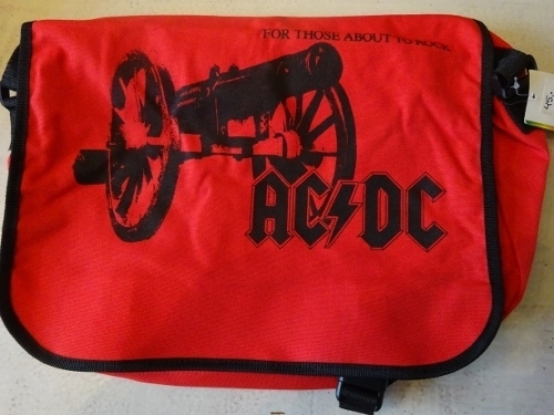MESSENGER BAG AC/DC - FOR THOSE ABOUT TO ROCK
