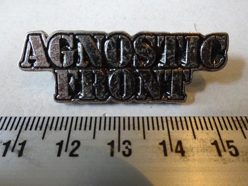 AGNOSTIC FRONT - NAME LOGO