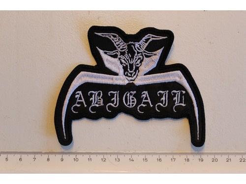 ABIGAIL - WHITE NAME LOGO