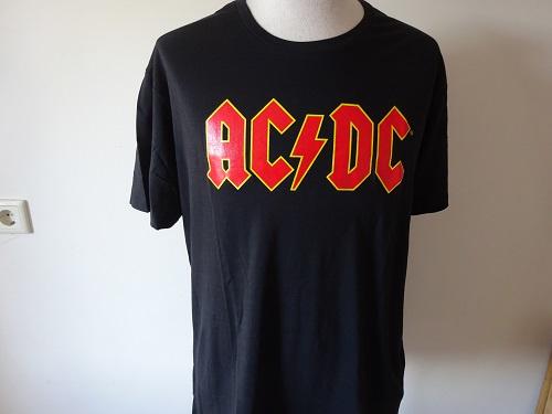 AC/DC - RED/YELLOW NAME LOGO